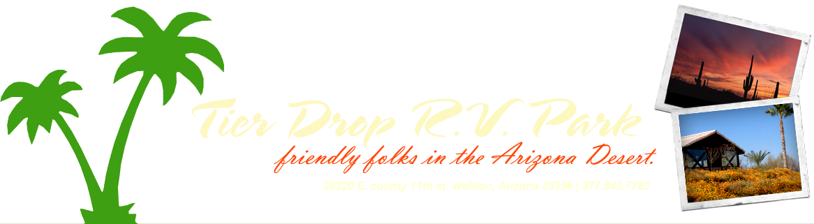 Welcome to Tier Drop R.V. Park's Website